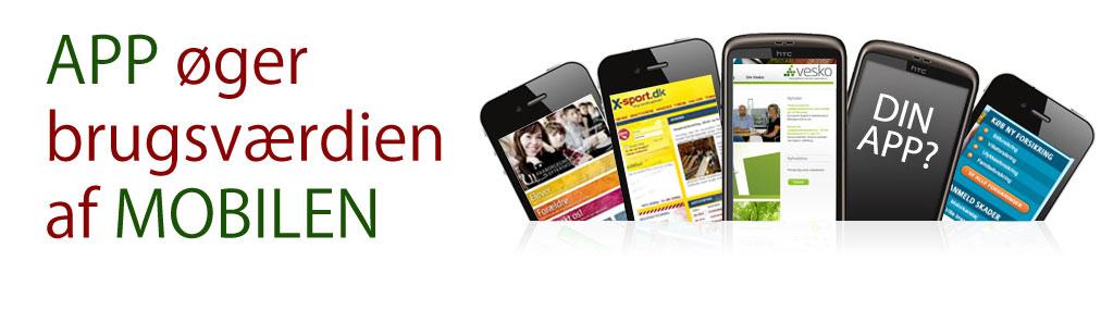 App øger brugsværdien af mobilen